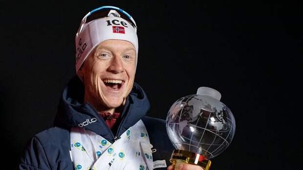 Йоханнес Бе заработал больше других биатлонистов за прошлый сезон