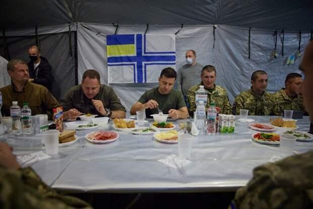 Неудавшийся пикник Зеленского на фронте: «Голобородько» окончательно встал на порошенковские рельсы