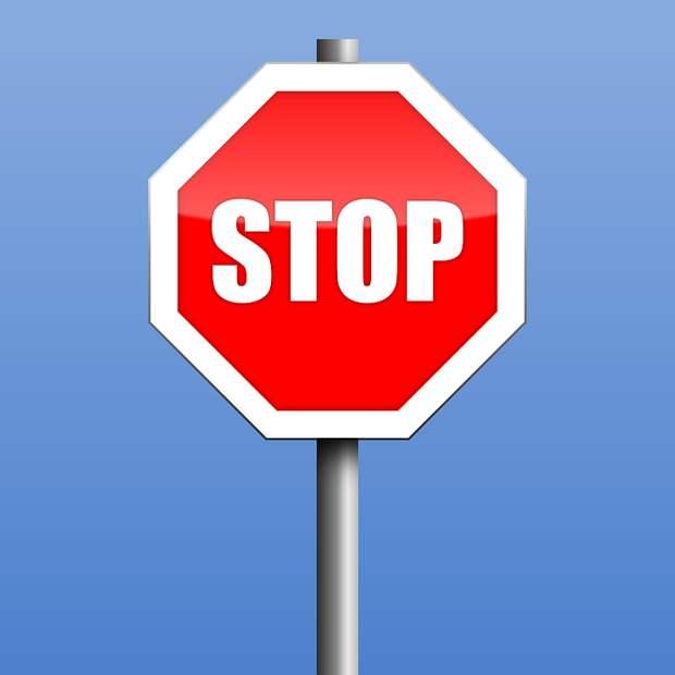 Остановить, Дорожный Знак, Предупреждение, Символ