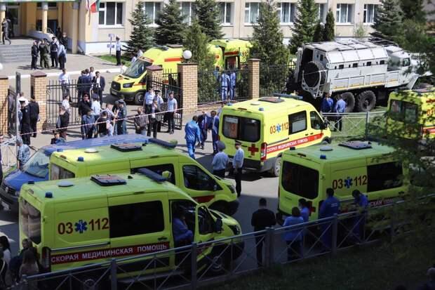 Трагедия в школе №175 вызвала террористическую панику в Казани