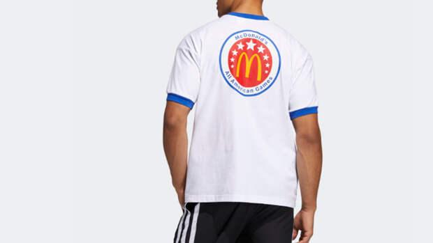 Adidas представил коллекцию одежды к баскетбольному матчу McDonald's