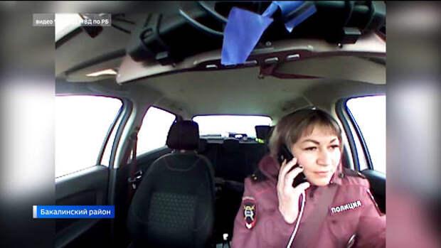 Не слабый пол: в Башкирии женщина-инспектор в одиночку догнала пьяного лихача