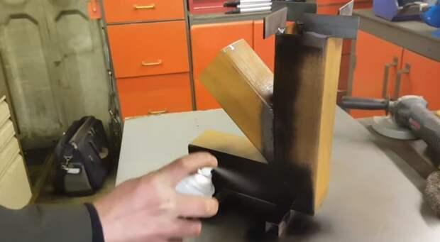 Печка «Ракета». Простая печь в походном стиле за полчаса