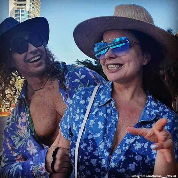 Наташа Королева с Тарзаном отметили на Мальдивах 20-летие «абрикосовой истории любви»