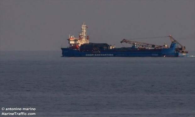«Северный поток — 2» начнут засыпать в датских водах