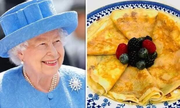 Королевские повара раскрыли рецепт приготовления любимых блинов Елизаветы II