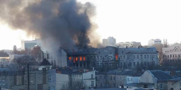 Число пострадавших от пожара в Одессе возросло до 12 человек