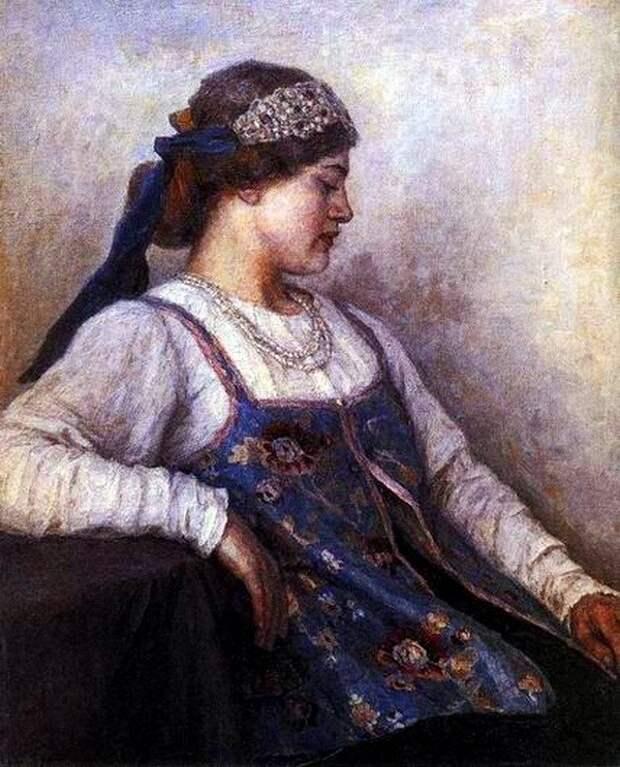 Русские красавицы глазами художников