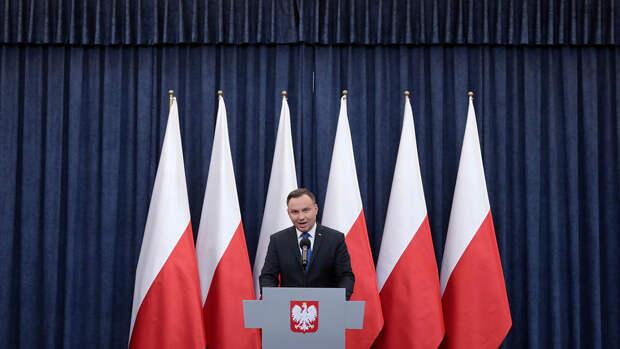 Президент Польши узнал о пропущенной встрече с Меркель от журналистов