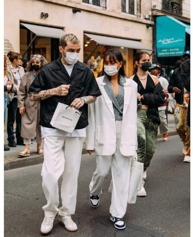 Люди модных улиц (трафик)
