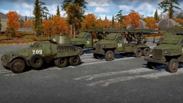 Фанаты компьютерной игры War Thunder провели виртуальный парад Победы