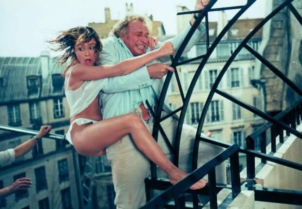 Налево от лифта (1988) Пьер Ришар, голливуд, кино, факты