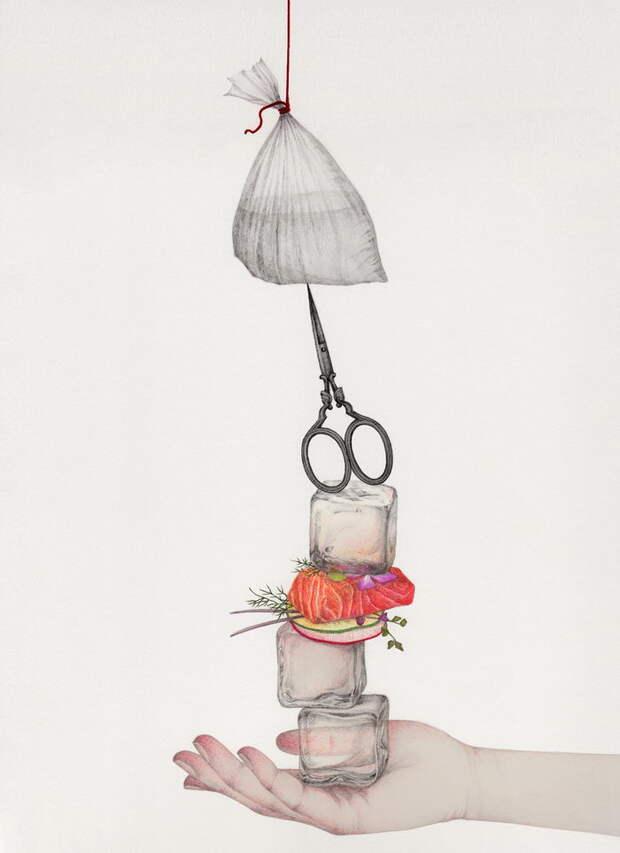 12 нежных иллюстраций Вики Линг