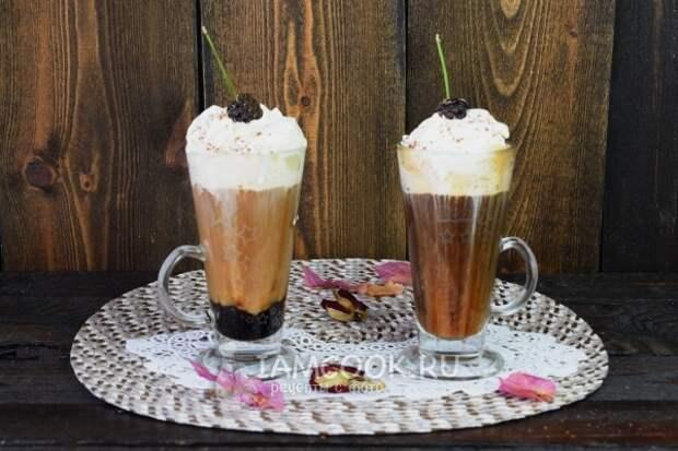 Рецепт кофе «Черный лес»