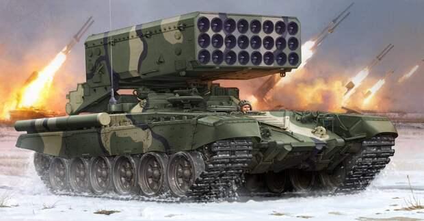 «Надо бояться»: чем американские СМИ так напугали российские ТОС-1А «Солнцепек»