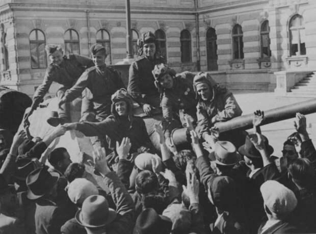 Почему Красная Армия освободила Румынию раньше чем территорию СССР