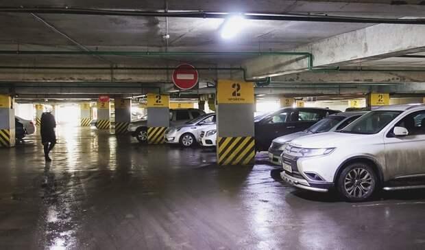 В омском парке планируют построить многоуровневую подземную парковку