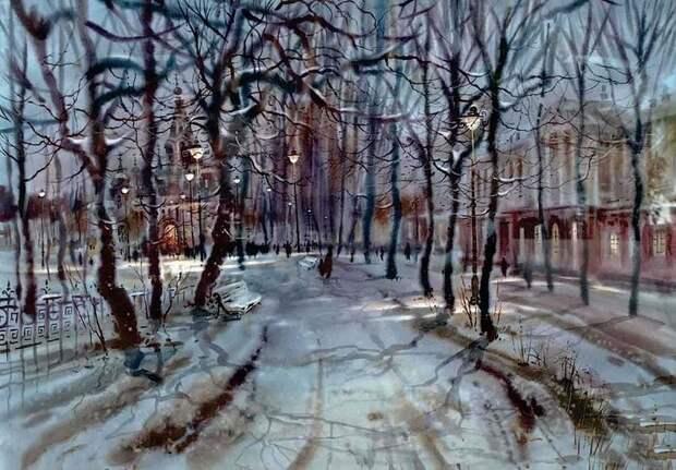 Осенний вальс- бостон Леонида Степановича Герасимова