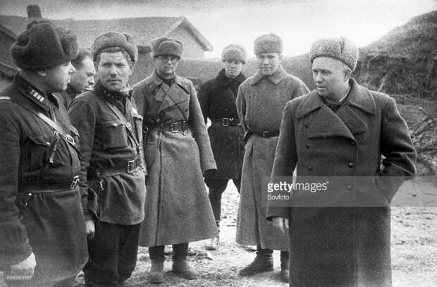 Никита Хрущев в Сталинграде.