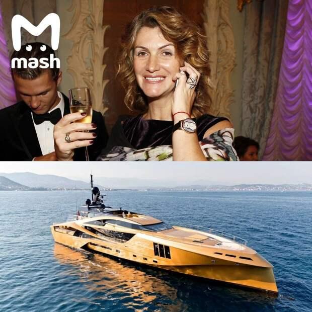 Псст, вы знали что у хозяйки банка БКФ есть золотая яхта? Только теперь она её не скоро...