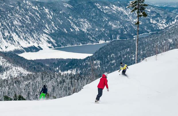 Зимние каникулы на Алтае