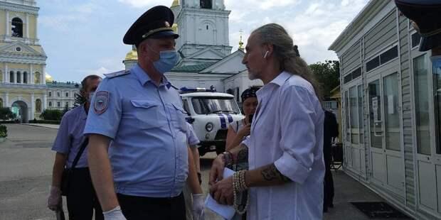 Никита Джигурда задержан в Дивеево