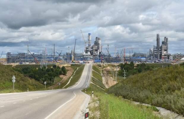 Путин дал старт производству на Амурском ГПЗ «Газпрома»