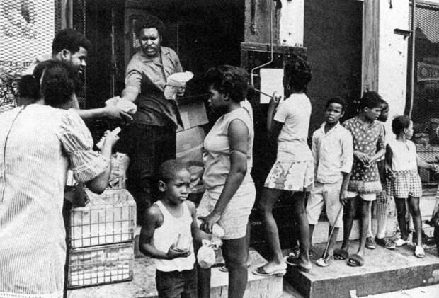 Социальные конфронтации в США 1960-х - 1970-х годов: Леворадикальная Партия черных пантер   (5)