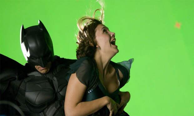 Темный рыцaрь. Фотографии со съемок