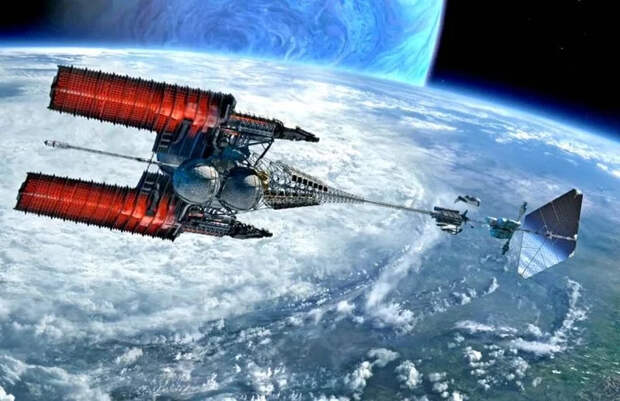 Технологии освоения космоса (на грани фантастики) Космос, Реактор, Космический корабль, Межпланетные перелеты, Длиннопост