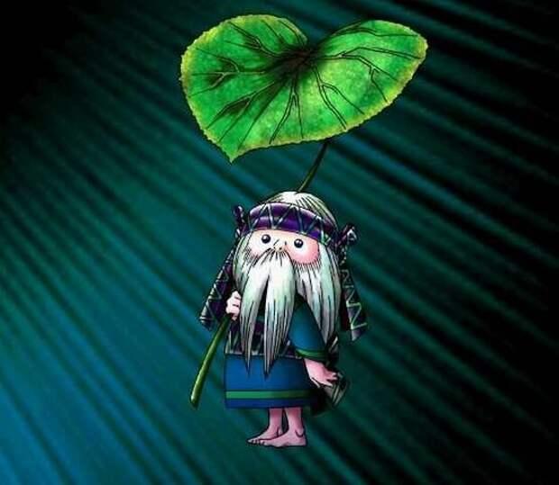 Коропоккуру в современной мифологии японцев