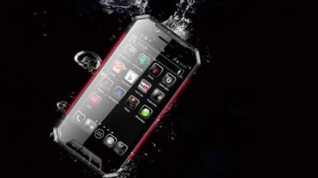 Бронированный смартфон Nomu S30 mini