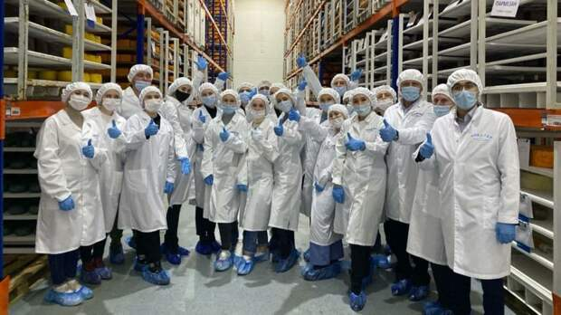 Студенты Агротехнологической академии побывали на молокоперерабатывающих предприятиях Красногвардейского района и города Джанкой