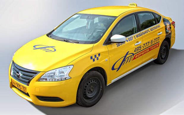 Nissan Sentra в такси:  японские шашки