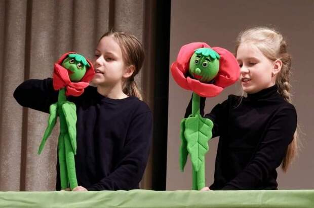 Юные артисты из школы на Соколе стали призерами фестиваля спектаклей на иностранных языках Фото: школа № 1249