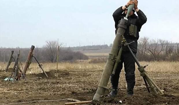 Запад Донецка под огнём ВСУ