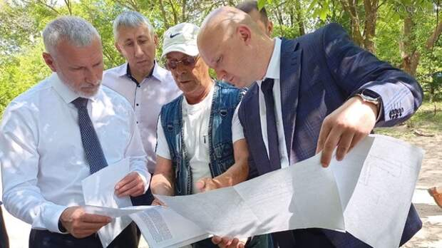 как жители Воронежской области с властью проблемы решали