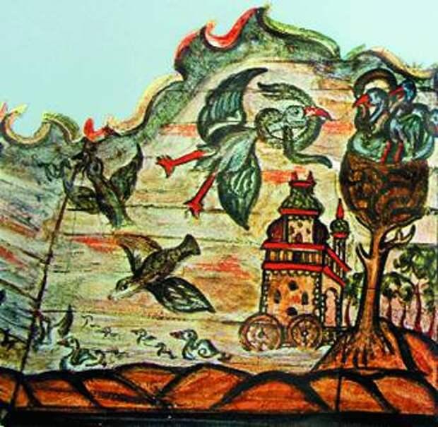 роспись Могилевской синагоги