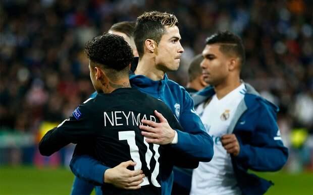 Неймар: «Хочу выиграть чемпионат мира и поиграть с Роналду»