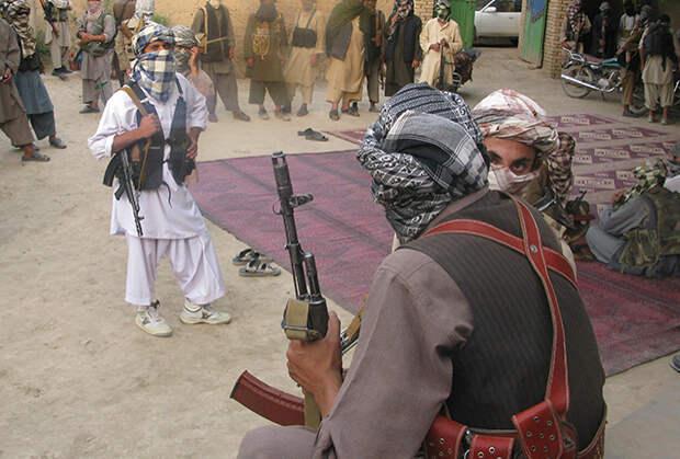 Боевики ИДУ в провинции Кундуз