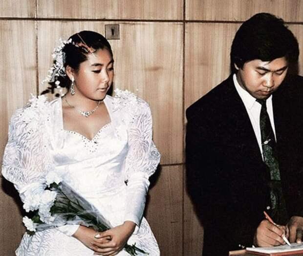 1990 год. Анита и Сергей Цой. Фото: личный архив