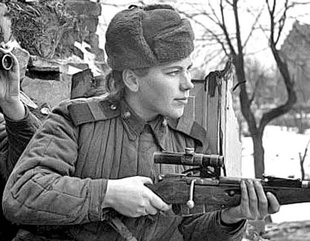 Роза Шанина, советский одиночный снайпер