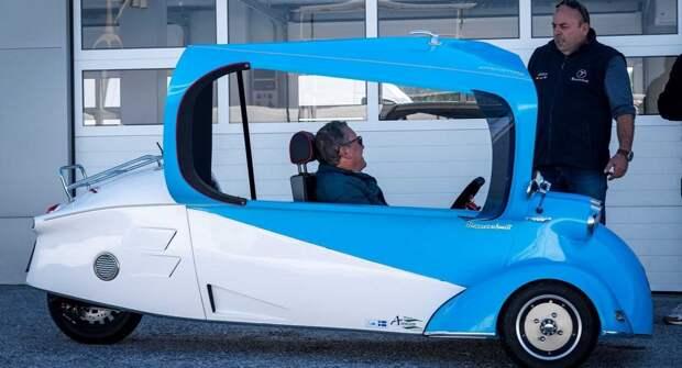 Микро-автомобиль Messerschmitt возрождается как бензиновая и электрическая модель