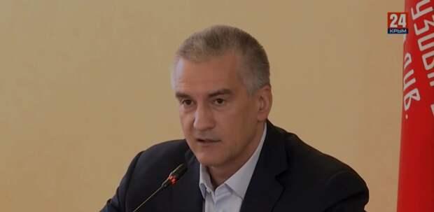 Аксенов увидел провокаторов и шантажистов на станции «скорой» в Керчи