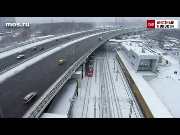 Новая станция «Ховрино» сможет за сутки принимать 15 тыс. пассажиров