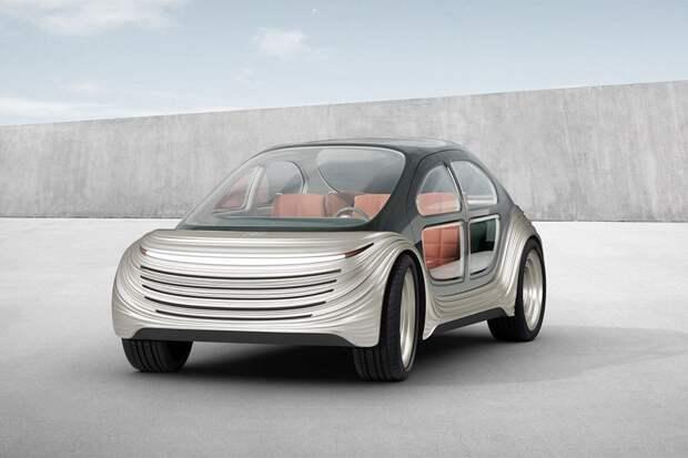 Лондонская студия показала электромобиль, который очищает воздух вокруг себя