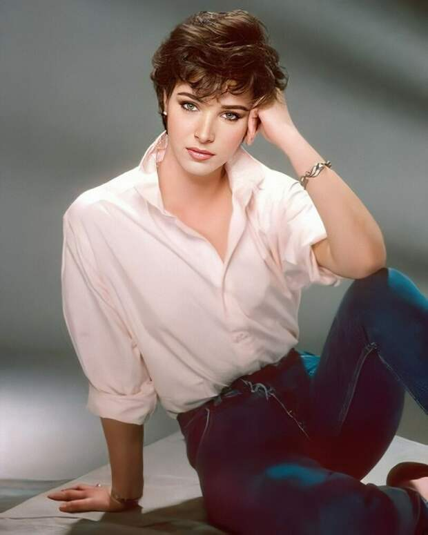 Лиза Кудроу в 80-х