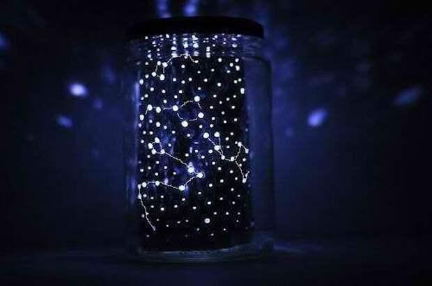 """Ночник """"Звездное небо"""" своими руками"""