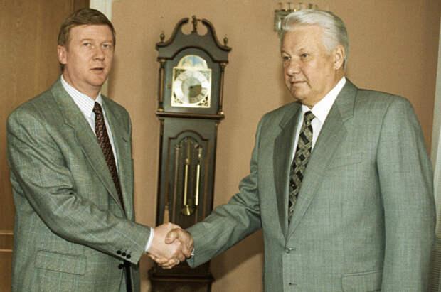 Что бы с Россией было, если бы после Ельцина пришел Чубайс?