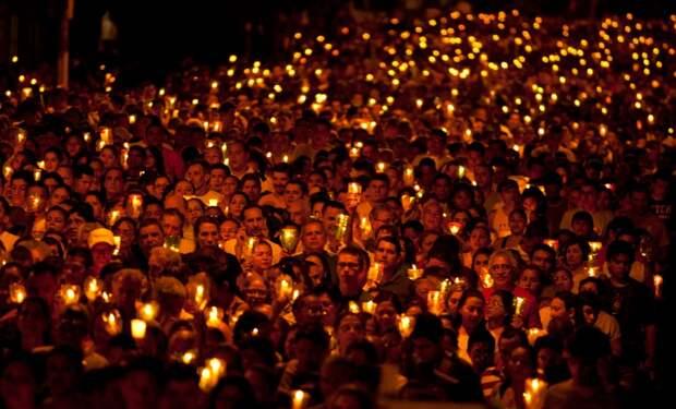 Шествие со свечами